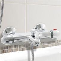 robinet mitigeur thermostatique bain douche en laiton pour baignoire cartouche ceramique Résultat Supérieur 16 Impressionnant Robinet Fixé Sur Baignoire Photos 2018 Shdy7