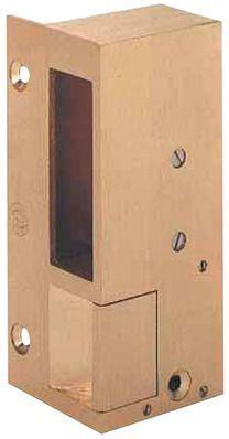 beugnot gache electrique en bronze en applique n 3 pour serrure verticale sens d contact. Black Bedroom Furniture Sets. Home Design Ideas