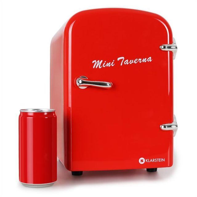 Klarstein Mini Taverna Mini Refrigerateur A Boissons 4l Adaptateur