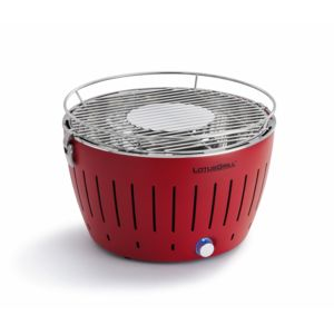 Lotusgrill - Barbecue portable 2-4 personnes Rouge