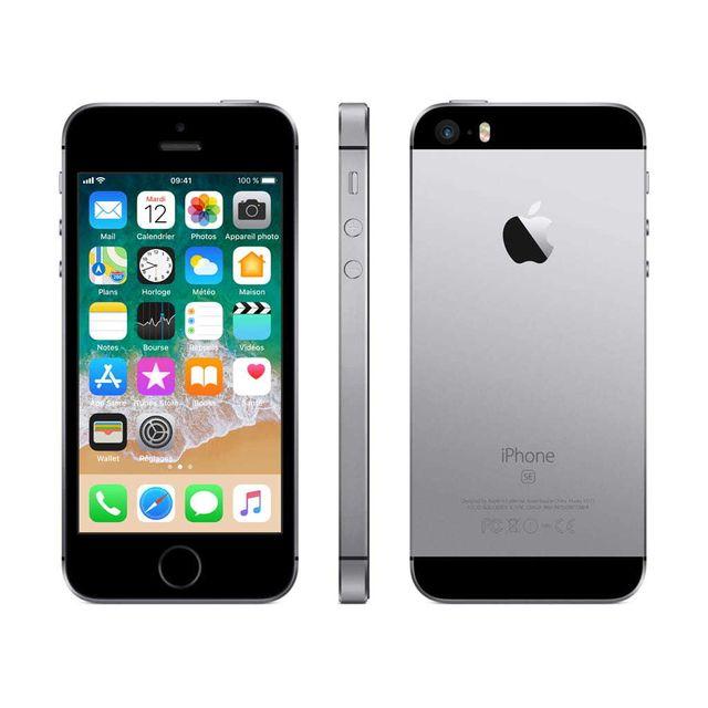 d64bbf09851a53 Nos packs de l expert. APPLE - iPhone SE - 32 Go ...