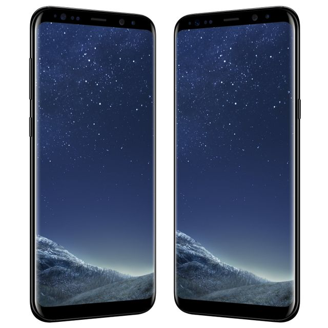 Samsung - Galaxy S8 Plus - 64 Go - Noir Carbone - Reconditionné