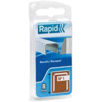 Rapid Agraf - Rapid - Agrafe n°1 - 8 mm par 860
