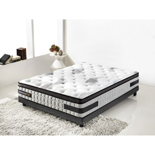memorypur ensemble ressorts sur matelas m moire de. Black Bedroom Furniture Sets. Home Design Ideas