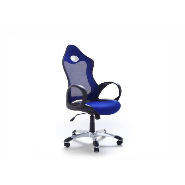 Chaise de bureau design bleue ICHAIR bleu