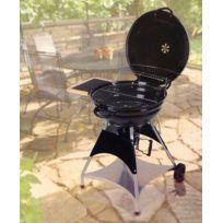 Tarrington House - Barbecue à charbon de bois -type Americain Avec Couvercle et Collecteur De Cendres Amovible - Cuve En Acier Emaillé