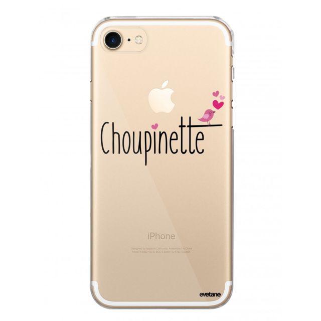 coque iphone 7 souple transparente