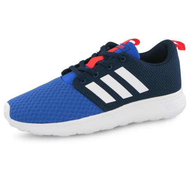 buy popular 1e180 7b8f3 Adidas - Baskets Swifty Bleu Enfant - pas cher Achat  Vente Baskets enfant  - RueDuCommerce