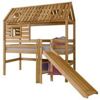 cabane enfant toboggan achat cabane enfant toboggan pas cher soldes rueducommerce. Black Bedroom Furniture Sets. Home Design Ideas