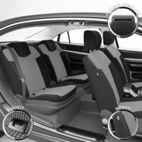 Housse De Siege Auto Voiture Sur Mesure Pour Renault Twingo 09 1998 Au 06 2007