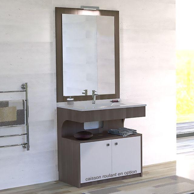 creazur meuble simple vasque pmr altea vienna 70 cm nc pas cher achat vente meubles de salle de bain rueducommerce