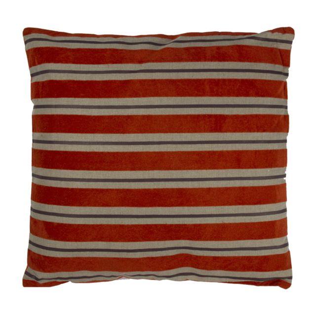mon beau tapis coussin saison 50x50 safran rouge 50cm x 50cm pas cher achat vente. Black Bedroom Furniture Sets. Home Design Ideas