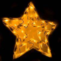 Provence Outillage - Éclairage figurine de fenêtre 35 ampoules Étoile