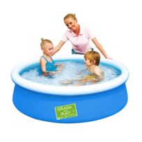 Best Way - Piscine auto portante : Bleu