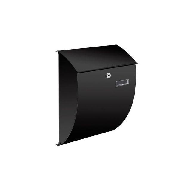 velleman boite aux lettres nice noire pas cher achat. Black Bedroom Furniture Sets. Home Design Ideas