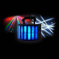 Flash - Jeu de lumière Double Derby à Leds Rgbw 2x10W Dmx