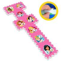 Stamp - Disney Princesses Tapis Puzzle Marelle en Mousse avec Sacoche 8 pieces