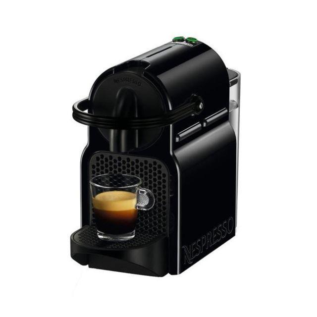 de 39 longhi cafeti re capsules nespresso inissia en 80 b noir achat cafeti re expresso. Black Bedroom Furniture Sets. Home Design Ideas