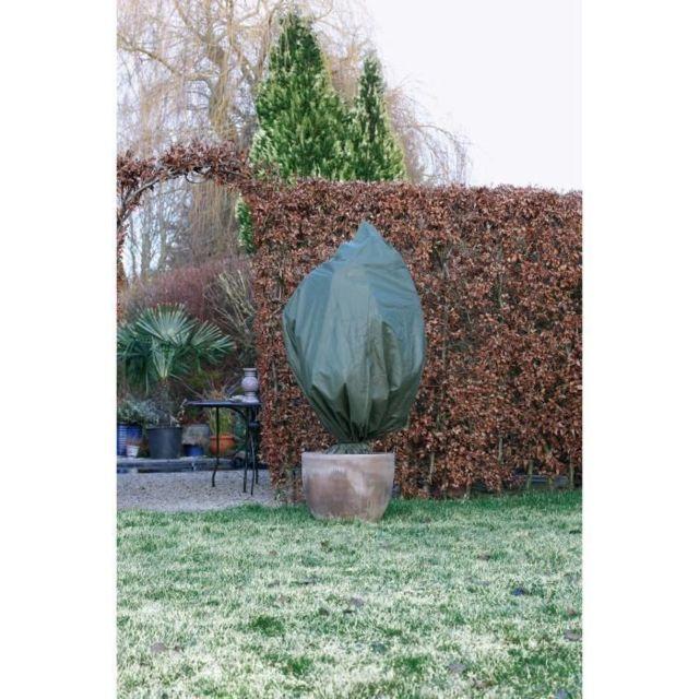 PAILLAGE - VOILE - PROTECTION CULTURE Housse d'hivernage 50 g/m² - Ø100 cm x 1,50 m - Vert