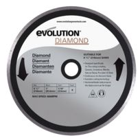 Evolution - Disque diamant Fury 210mm