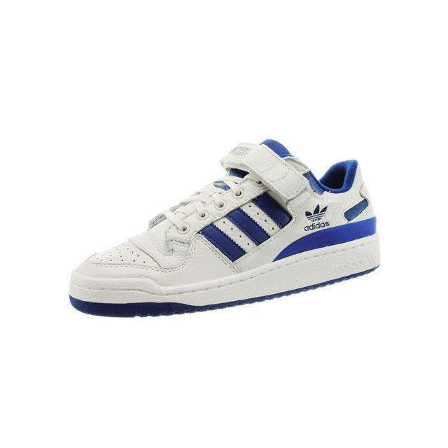 sneakers for cheap 6e4c6 fd230 Adidas - Forum Lo Blanc - pas cher Achat   Vente Baskets homme -  RueDuCommerce