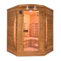France Sauna - Sauna infrarouge Spectra 3 places angulaire