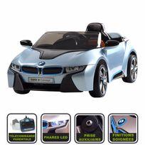Cristom - Voiture de sport i8 Concept 12V Licence Bmw ® - bleu