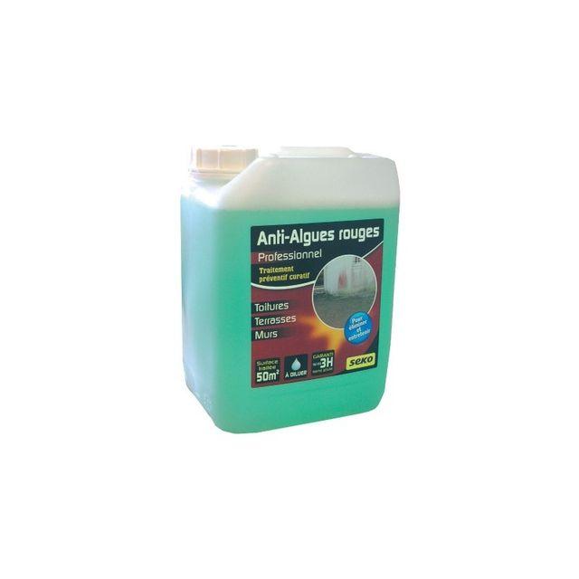 selection brico travo anti mousse professionnel algue rouge vg bidon 5 l pas cher achat. Black Bedroom Furniture Sets. Home Design Ideas