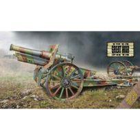 Ace - Maquette Matériel Militaire : Canon de 155 cm de 1917 roues en bois