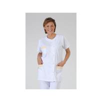 Label Blouse - Vêtement de travail médical et esthétique Modèle femme Julia Coloris : Blanc