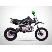 Probike - Moto Dirt Bike 110 - Semi Automatique - Pit Bike 110 - Vert - 2018