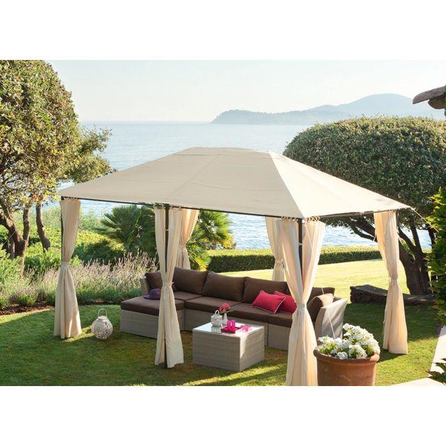 Stunning Hesperide Tonnelle De Jardin Santorini X M Ecru