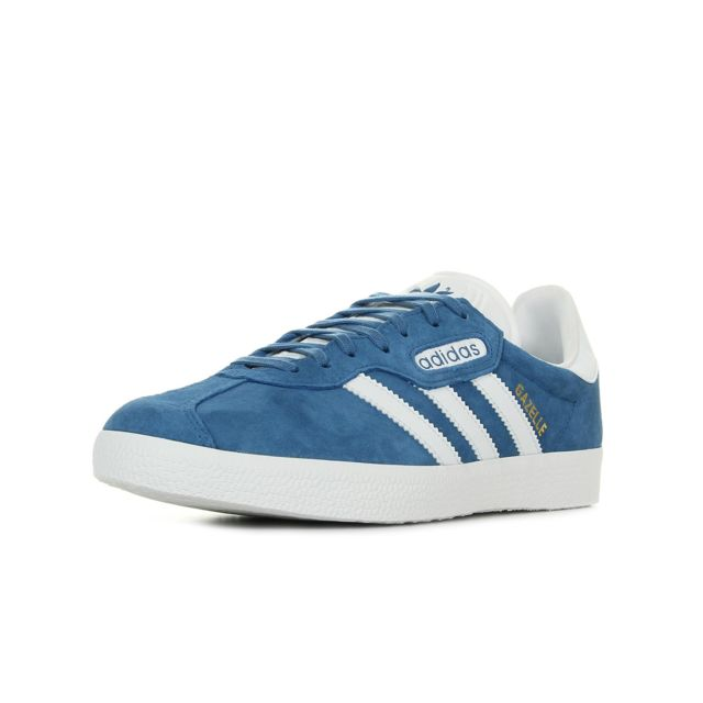 Adidas - Gazelle Super Essential Bleu - 44