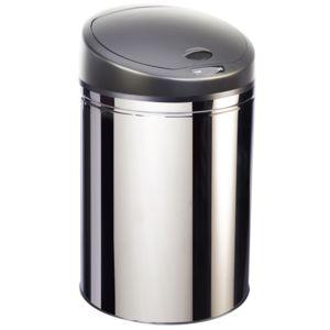 robby poubelle automatique 30l inox upsense 30l inox pas cher achat vente poubelles. Black Bedroom Furniture Sets. Home Design Ideas