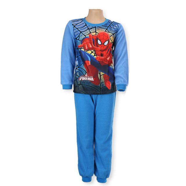 0fd610ed8704d Spider-man - Pyjama Polaire haut + bas Garçon - Spider-Man. Age enfant :