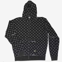 Fallen - Sweat Zipper Capuche Cobra Black White Skull