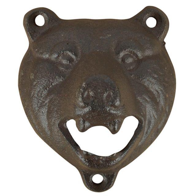ESSCHERT DESIGN Ouvre bouteille tête d'ours