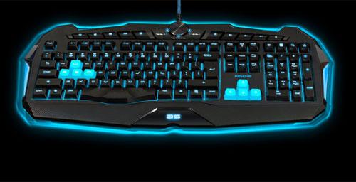bluestork clavier gamer lumineux avec touches multim dia pas cher achat vente clavier. Black Bedroom Furniture Sets. Home Design Ideas