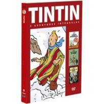 Citel Vidéo - Tintin - 3 aventures - Vol. 4 : 7 boules de Cristal + Le Temple du soleil + L'Etoile mystérieuse