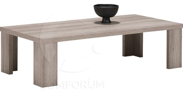 Comforium Table basse contemporaine 130 cm coloris mara