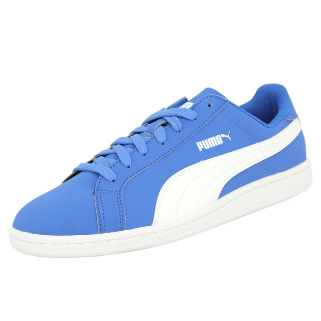 Puma Smash Buck Chaussures Mode Sneakers Homme Bleu pas