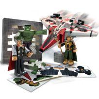 Jazwares - Avengers Marvel Set Papercraft Avenjet Aircraft Vehicle Pack