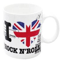 Cherriz - Mug I Love Rock'n Roll - Blanc