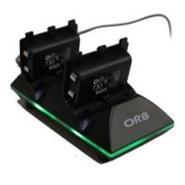 Xbox One - Orb Dual Controller Charge Dock - Includes Batteries