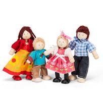 Le Toy Van - La famille de 4 poupées