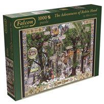 Jumbo - Jigsaw - Falcon De Luxe - The Adventures Of Robin Hood - 1000PC