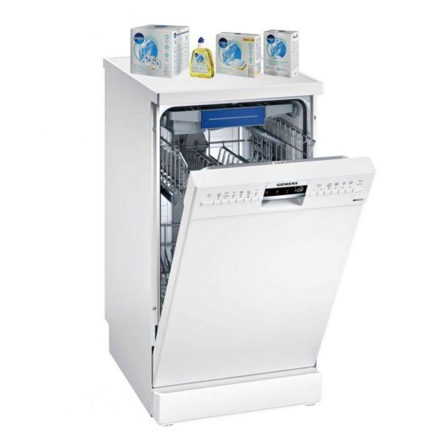 Siemens Lave-vaisselle Posable blanc 44dB A+ 10 couverts 45cm Panier VarioFlex