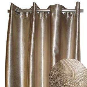 alin a bling rideau illets dor 140x270cm occultant pas cher achat vente rideaux. Black Bedroom Furniture Sets. Home Design Ideas