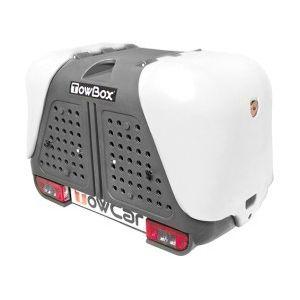 towcar coffre d attelage pour chien towbox dog v2 gris pas cher achat vente coffres de. Black Bedroom Furniture Sets. Home Design Ideas