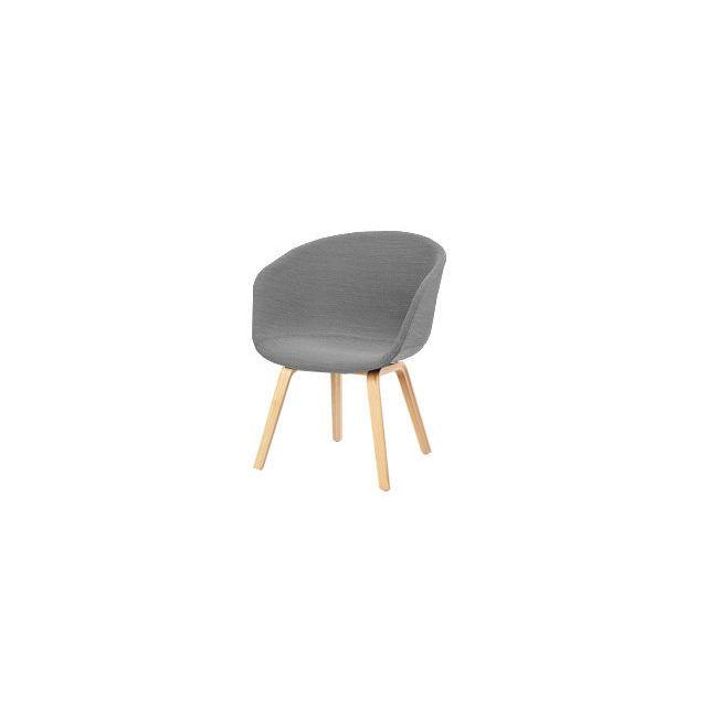 Hay About A Chair Low Aac 43 - Remix 133 - gris - chêne savonné